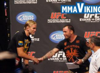 Alexander Gustafsson Meets Rogan