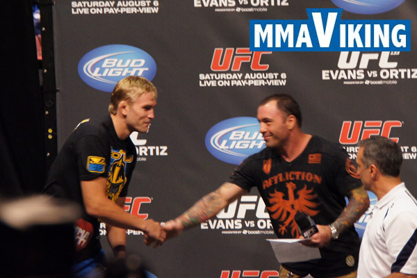 Alexander Gustafsson Meets Rogan