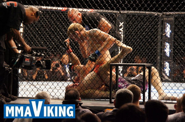 "Hard hitting Alex ""The Mauler"" Gustafsson is the Nordic Fighter of the Year 2011"
