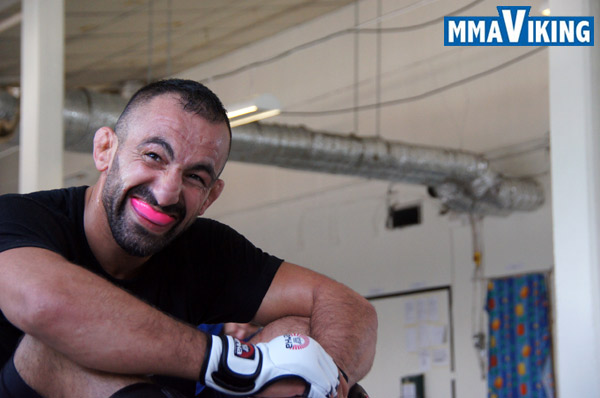 Reza Madadi Laughing
