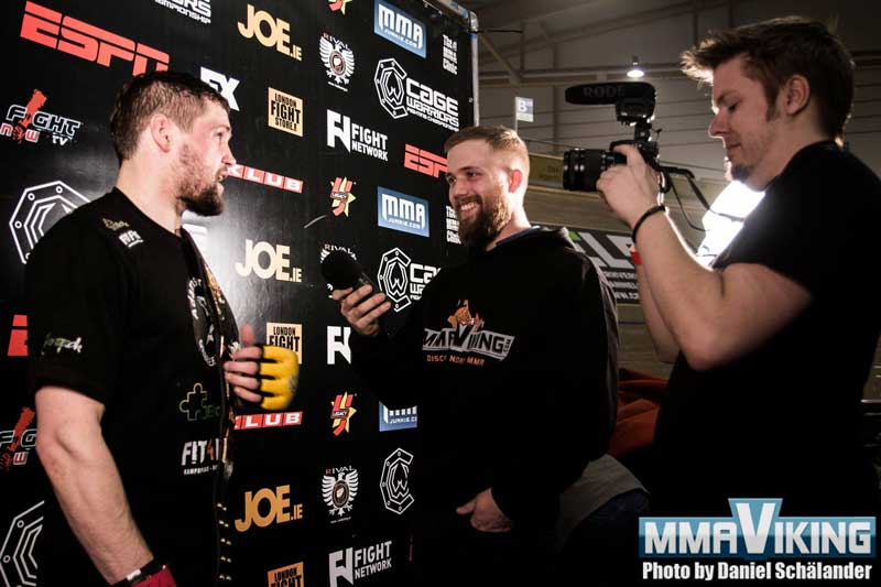 Dalby, Jonasson, and Foght at Cage Warriors 66