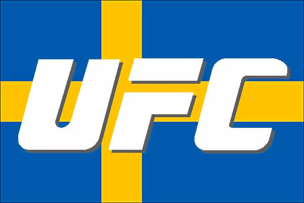 UFC to Sweden in March