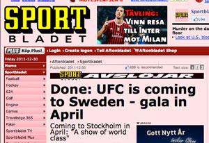 UFC_To_Sweden