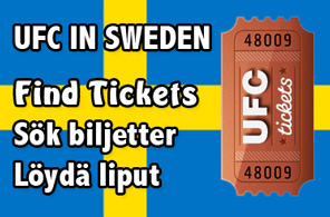 UFC in Sweden Tickets