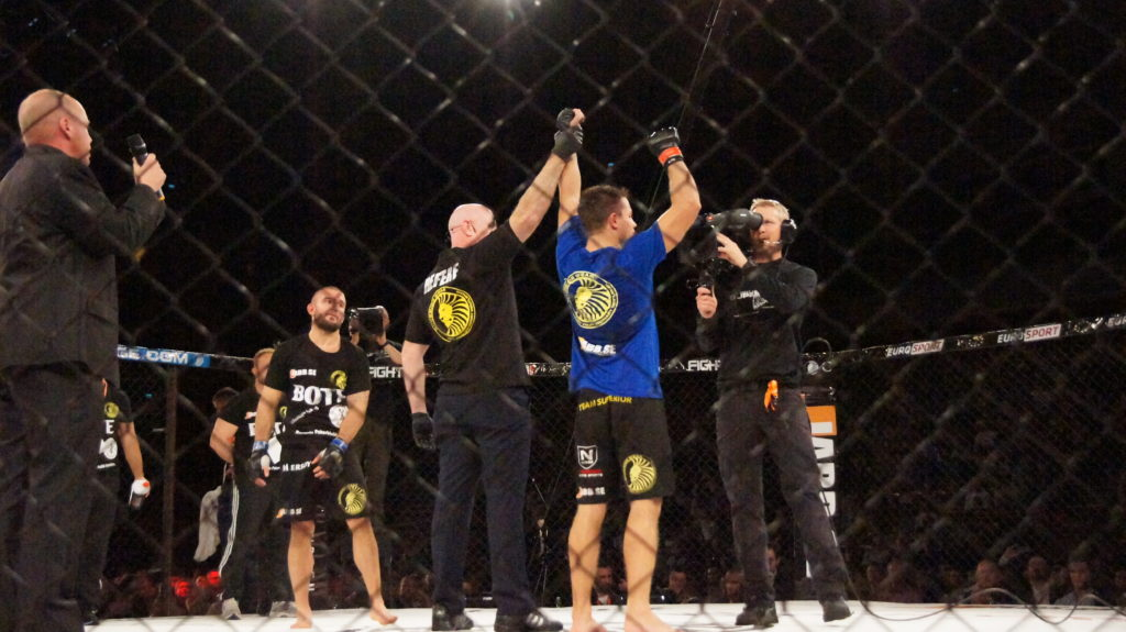 Unanimous decision win for Simon Sköld 1