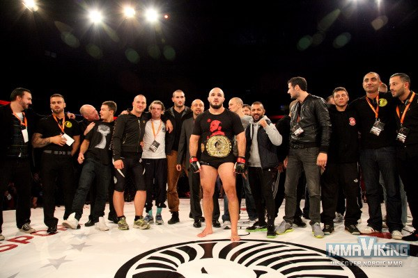 Ilir Latifi Stands with Superior Challenge Participants