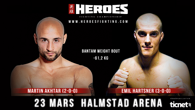 The first bout to be announced by Heroes Fighting Championship