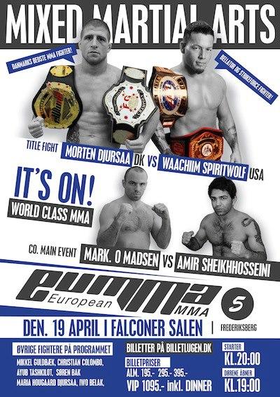 European MMA 5 Poster