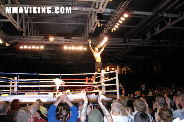 Chris Spang at Superior Challenge 2 in 2009 (photo by MMAViking.com =)