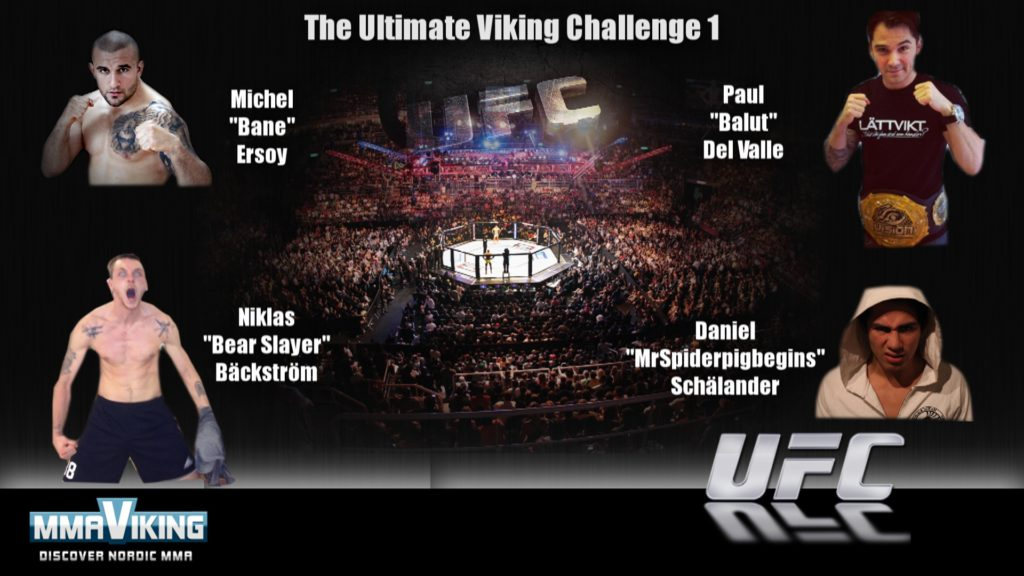The lineup for the first installment of The Ultimate Viking Challenge