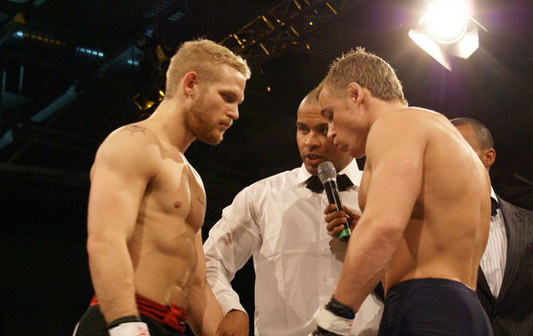 Enberg at Rumble of the Kings 2009 | Photo from AsgardMMA