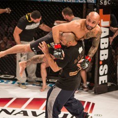 Cageside Photos : Martin Akhtar Versus Damien Pighiera at SC 9