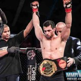 Tashkilot Wins European MMA Belt Off His Back