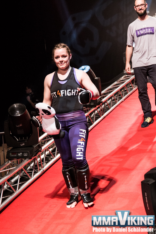 Anna Elmose at MMA Gladiators