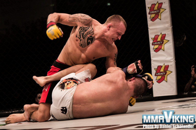 The Swede Hermansson, Makes UFC Debut in Hamburg