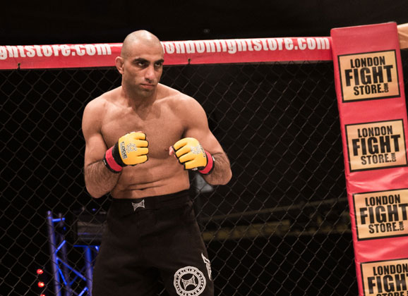 Mohsen Bahari Gets Cage Warriors Title Shot