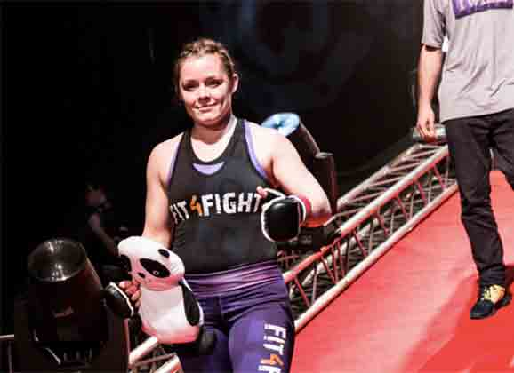 Anna Elmose : The Danish Panda Turns Pro at CWFC 74