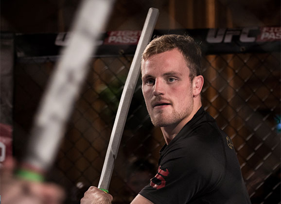 Photos : Gunnar Nelson at Open Workouts for FN Stockholm
