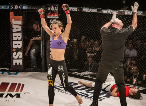 Linn Wennergren Training with Sweden's Best Girls to Prep for XFCi Debut
