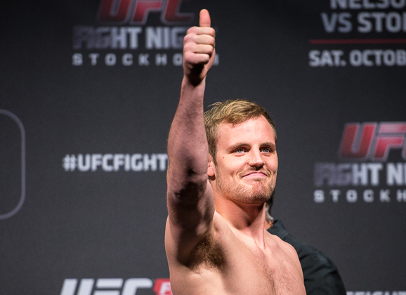 Weigh-in Photos & Video: Rick Story vs. Gunnar Nelson