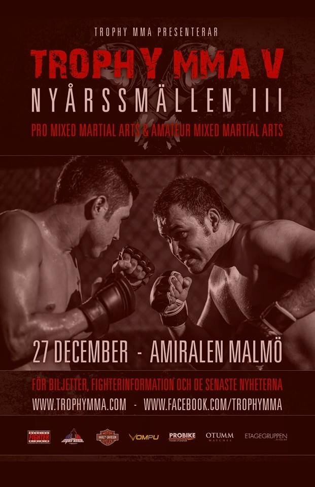 Trophy MMA V @ Amiralen | Malmö | Skane County | Sweden