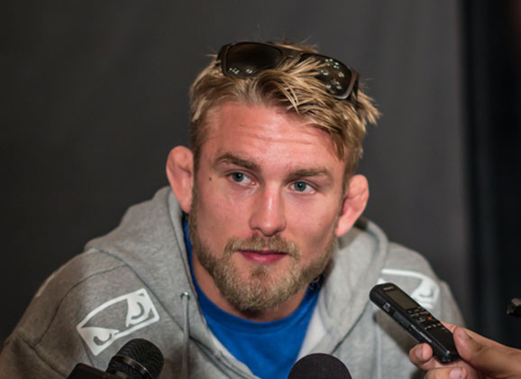Video : Alexander Gustafsson at Tonight's 'The Time is Now' Event