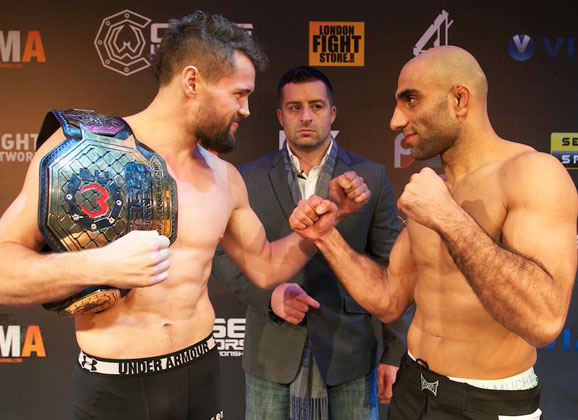 Nordic Fighter Play-by-Play from Cage Warriors 74