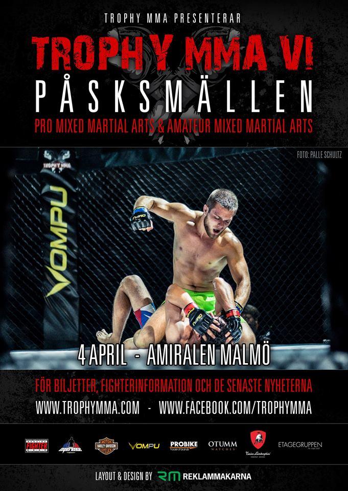 Trophy MMA VI @ Amiralen | Malmö | Skane County | Sweden
