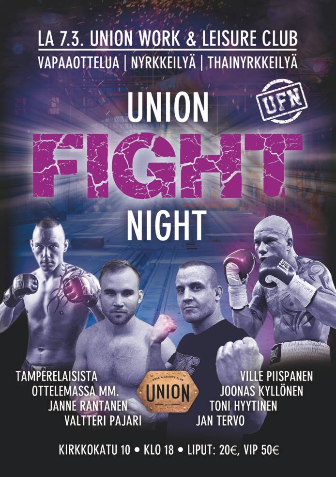 Union Fight Night Tampere