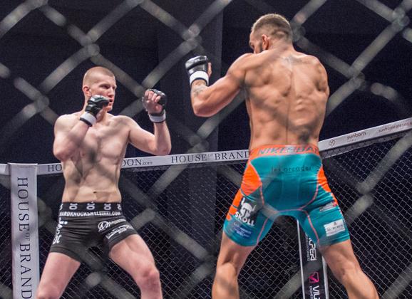 Cageside photos: Mikko Ahmala vs. Julien Piednoir
