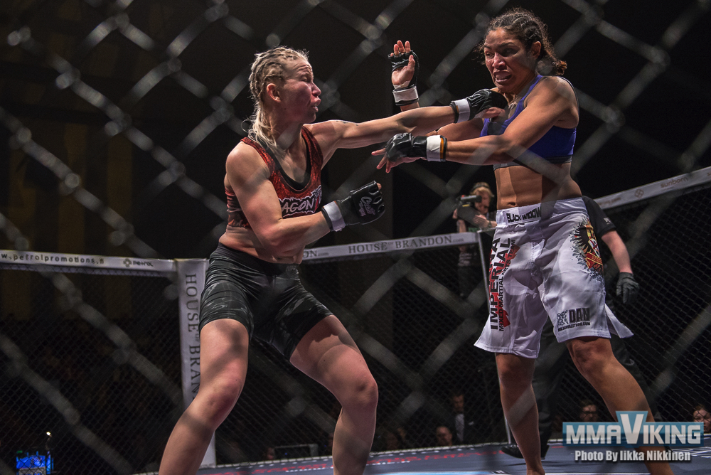 Salmimies With Solid Win at Cage 29