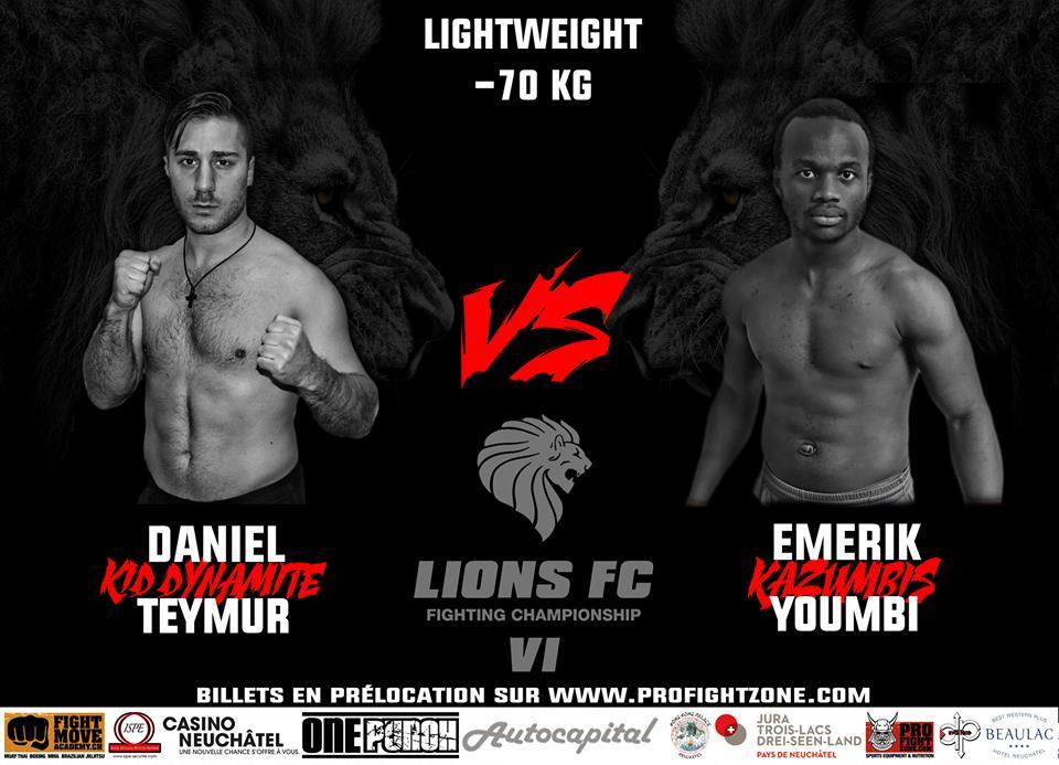 Daniel Teymur at Lions FC VI