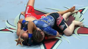 Katja Dominates Third Round in Top Position