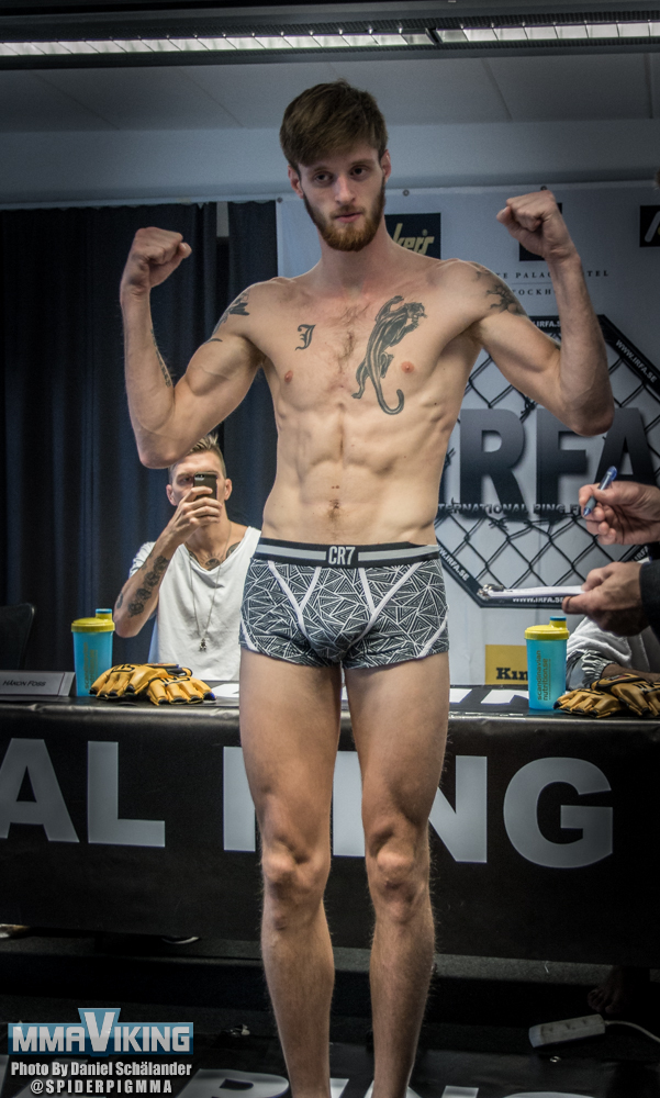 Joachim Tollefsen at Fight Star Championships