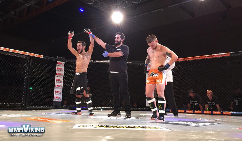 Temur Malick Wins First Fight of Night