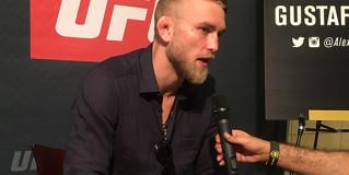 Photos : Alexander Gustafsson at UFC 192 Media Day
