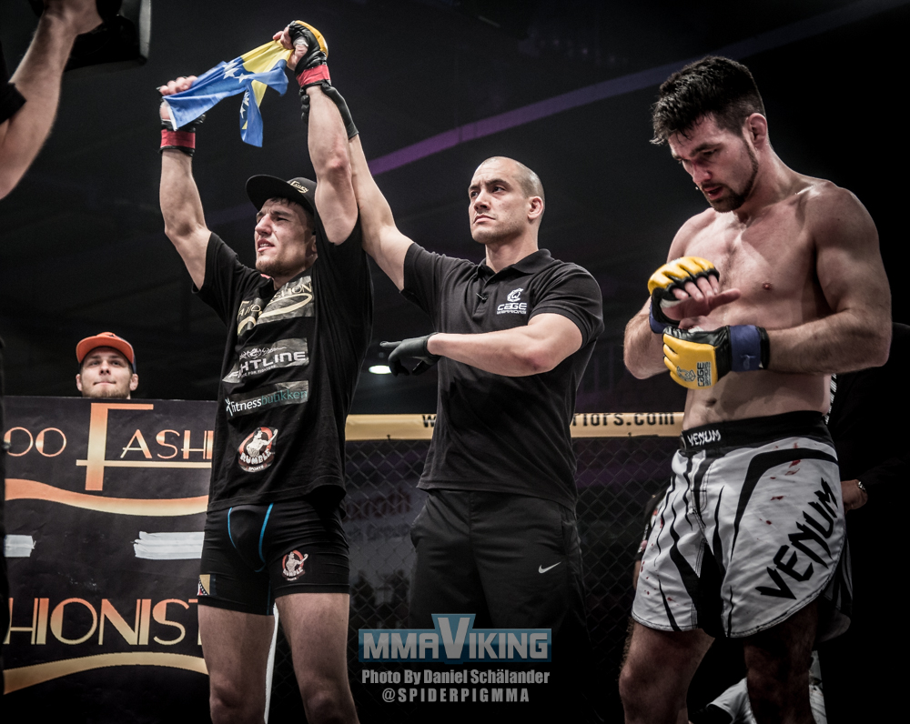 Damir Hadzovic Copenhagen Cage Warriors
