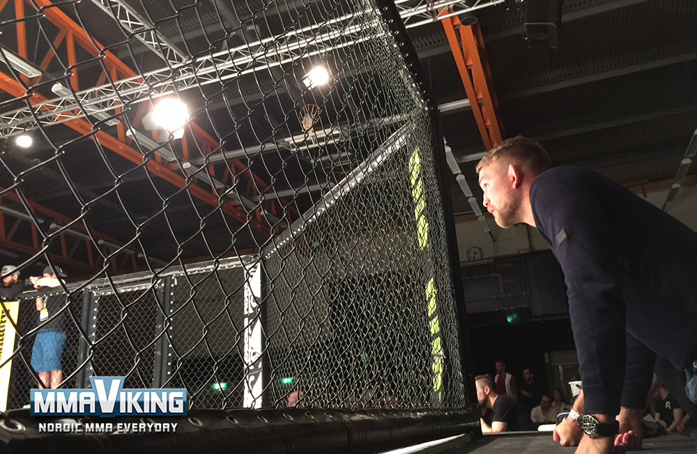 Gustafsson Coaching Cageside
