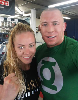 Sunna with GSP at Tristar