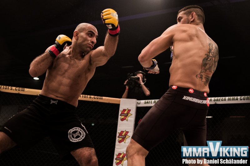 Bak and Bahari at Cage Warriors 83