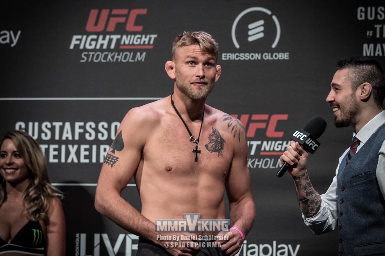 Gustafsson at UFC 227