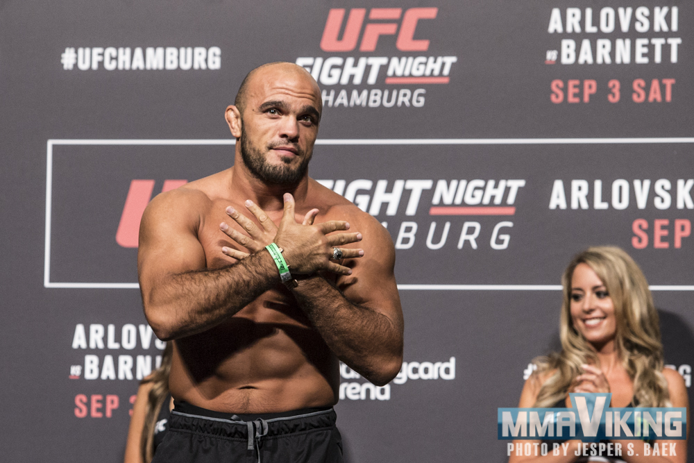 Ilir Latifi at UFC 215