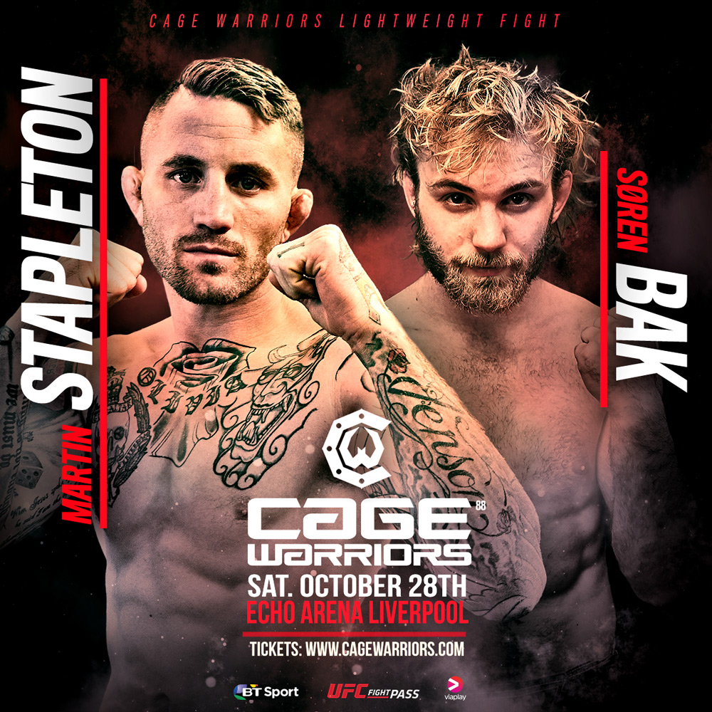 Soren Bak at Cage Warriors 88