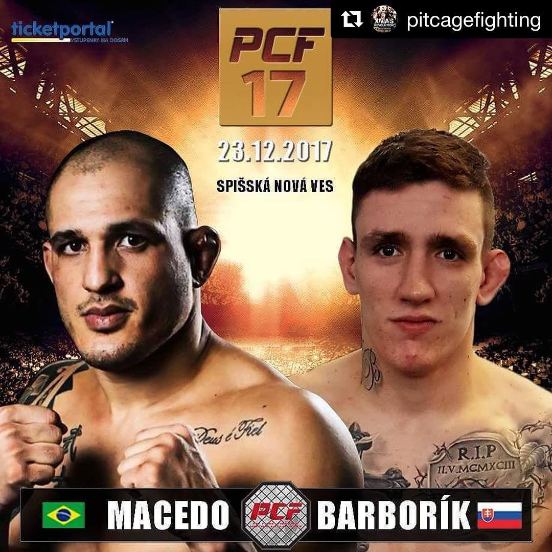 Cancelled : Macedo at PCF 17