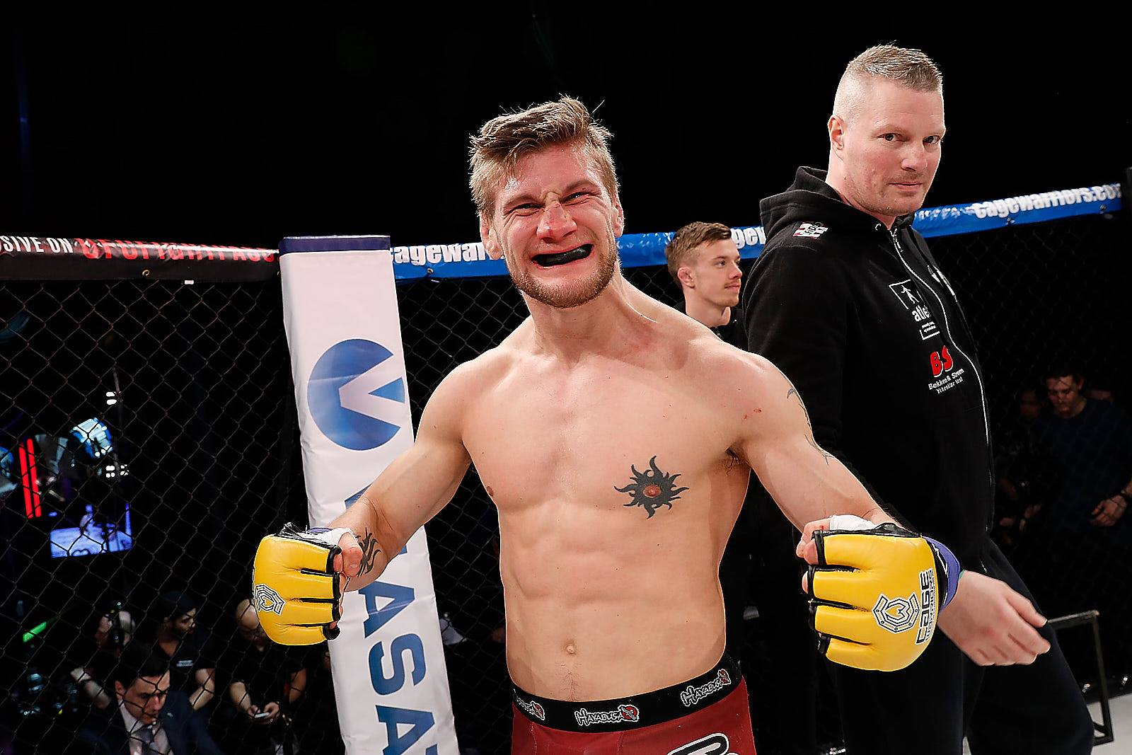 Jacobsen at Cage Warriors 90