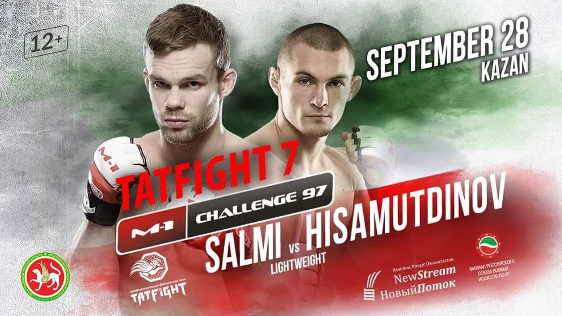 Salmi at M-1 Challenge 97