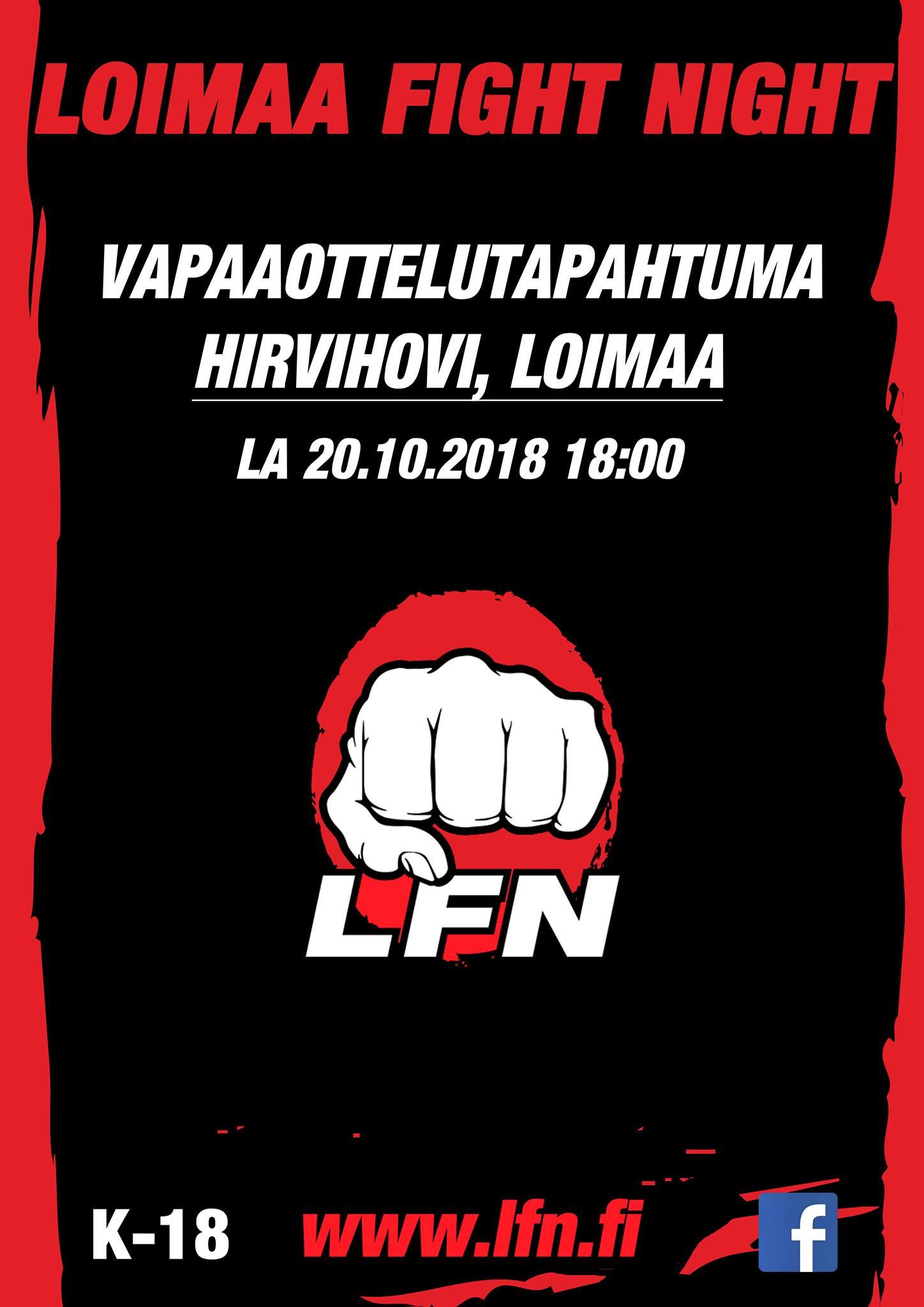 Loimaa Fight Night