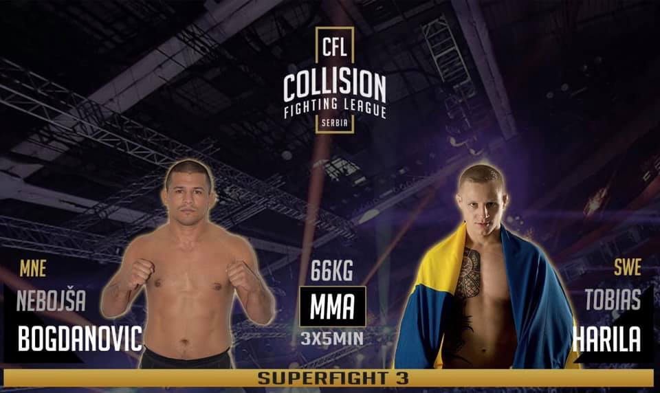 Harila at Collision Fighting League