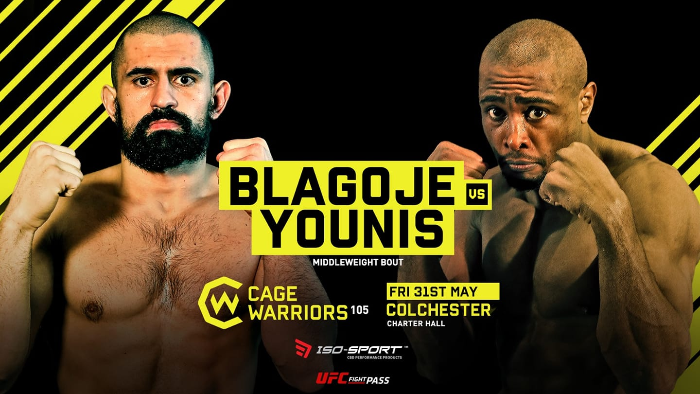 Blagoje at Cage Warriors 105