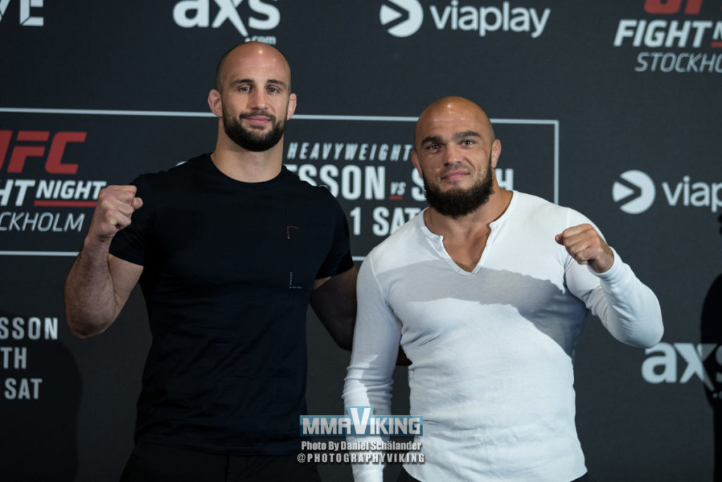 Ilir Latifi at UFC New Jersey
